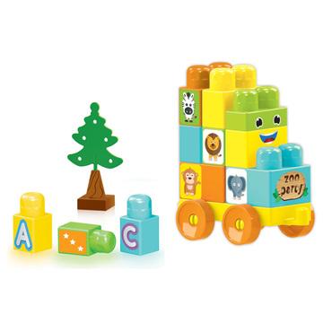 Wader: Cuburi de construcție pentru bebeluși - 50 buc. - .foto