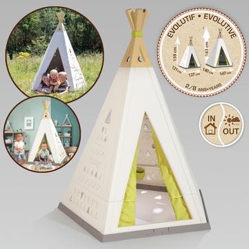 Smoby: Teepee Evolutive sátor formájú állítható kisház - . kép