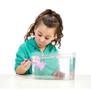 Little Live Pets: Seaqueen úszkáló halacska - 2. széria - . kép