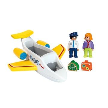 Playmobil 1.2.3.: Utasszállító kisrepülőgép - . kép