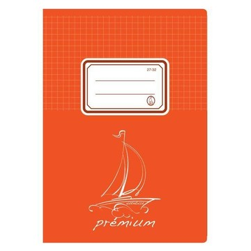 Harmónia prémium négyzetrácsos füzet - A5