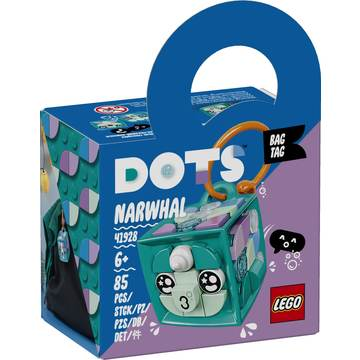 LEGO DOTS: Narválos táskadísz 41928 - . kép