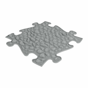 Muffik: Kemény kavicsos kiegészítő darab szenzoros szőnyegekhez - grafit
