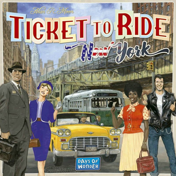 Ticket to Ride: New York társasjáték