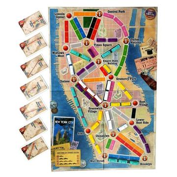 Ticket to Ride: New York társasjáték - . kép