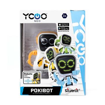 Silverlit: Pokibot robot portabil - galben - .foto