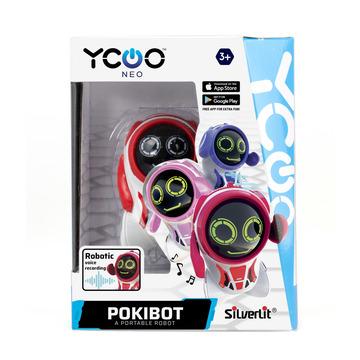 Silverlit: Pokibot zsebrobot - piros - . kép