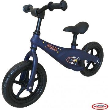 Funbee: Bicicletă fără pedale cu cadru din magneziu - albastru închis
