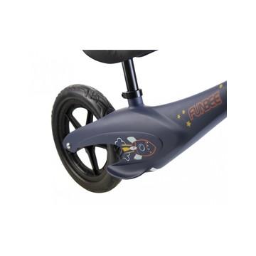 Funbee: Bicicletă fără pedale cu cadru din magneziu - albastru închis - .foto