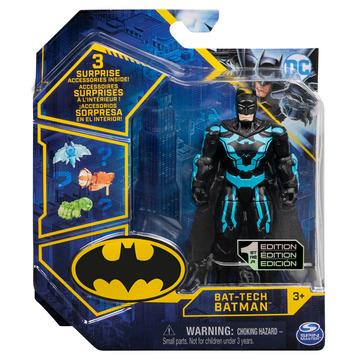 DC Batman: Bat-Tech Batman akciófigura kiegészítőkkel