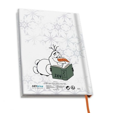 Disney Jégvarázs: Jégvarázs 2 Olaf jegyzetfüzet, A5 - . kép