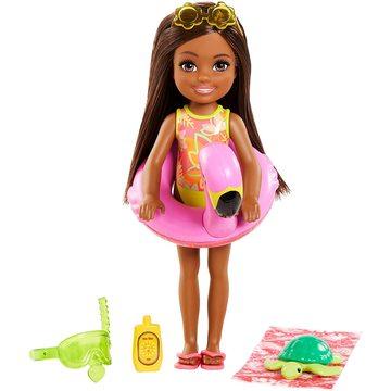 Barbie: The Lost Birthday - Păpușa Chelsea cu colac flamingo