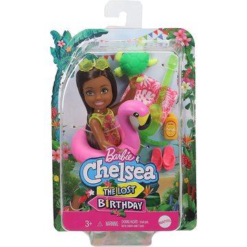 Barbie: The Lost Birthday - Păpușa Chelsea cu colac flamingo - .foto