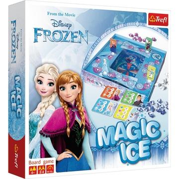 Frozen: Zăpadă magică - joc de societate cu instrucțiuni în lb. maghiară și puzzle 160 piese cadou - .foto