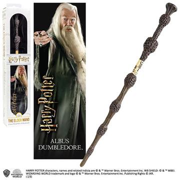 Harry Potter: Dumbledore varázspálca 3D könyvjelzővel