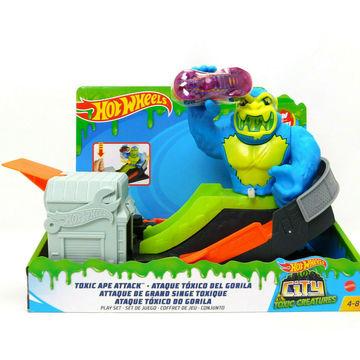 Hot Wheels City: Toxic Creatures - Gorilla támadás