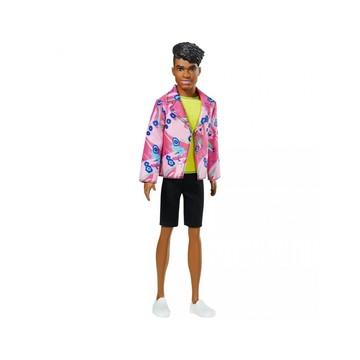 Barbie: Ken 60. évfordulós baba virág mintás zakóban - . kép