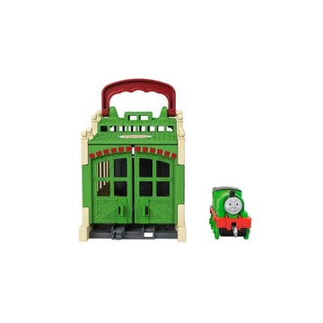Locomotiva Thomas: Mini-set de joacă Connect and Go Percy - .foto