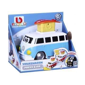 Bburago Jr.: VolksWagen Press and Go mikrobusz - többféle - . kép