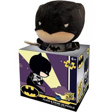 Batman: Puzzle 3D cu 500 piese - cu jucărie pluș