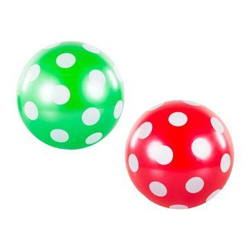 Pöttyös labda, 22 cm - többféle