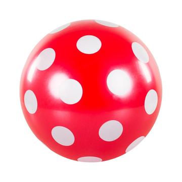 Pöttyös labda, 22 cm - többféle - . kép