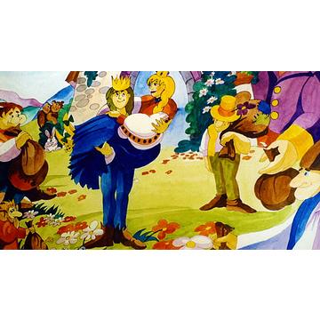 Szélike és János királyfi - . kép
