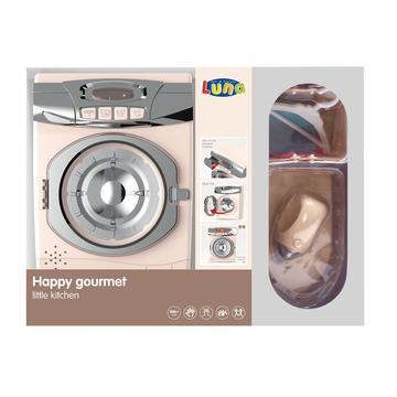 Happy Gourmet: Játék mosógép vasalóval - krémszínű - . kép