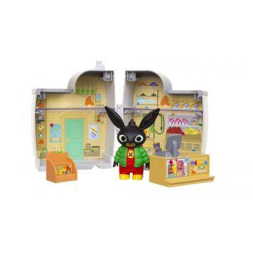 Bing: Mini ház játszószett - Pola boltjában