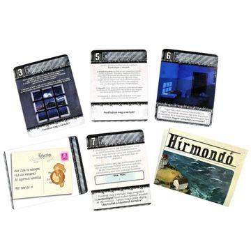 Szabadulópakli: Szökés Alcatrazból kártyajáték - . kép