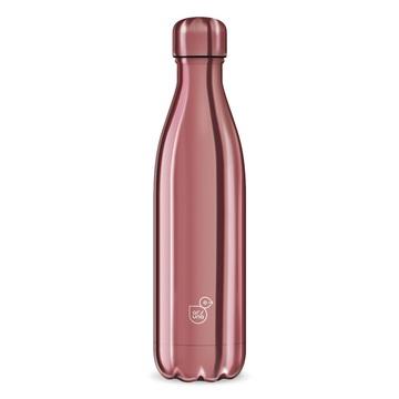 Metal-Rose - sticlă de apă metalică cu pereți dubli, 500 ml