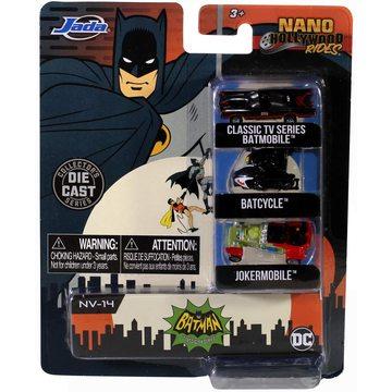 DC Batman: Classic TV Series - set de 3 mini-mașinuțe - .foto