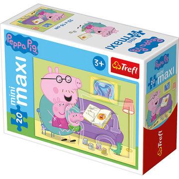 Peppa Malac: 20 db-os miniMaxi puzzle - többféle - . kép
