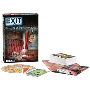 EXIT - Rejtély az Orient Expresszen társasjáték - . kép