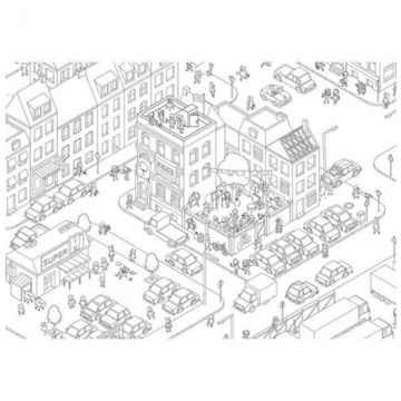 MicroMacro: Crime City társasjáték - . kép