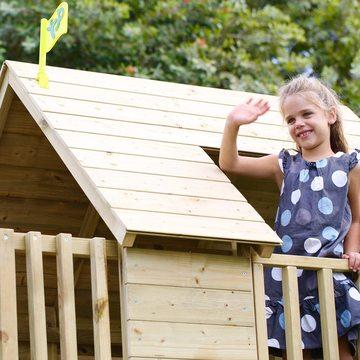 TP: Loft kétszintes fa játszóház (5 dobozos) - . kép