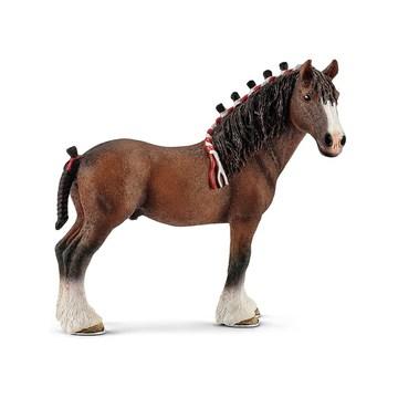 Schleich: Clydesdale herélt ló figura