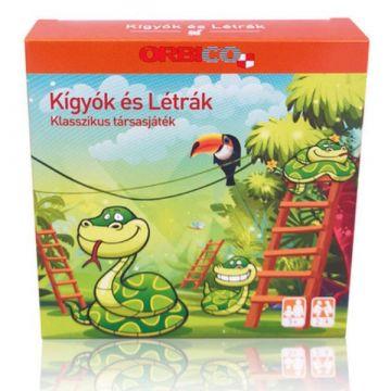 Mini társasjáték - Kígyók és létrák