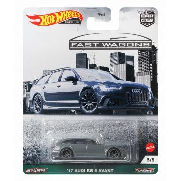 Hot Wheels Car Culture: Fast Wagons - 17 Audi RS 6 Avant