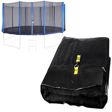 Spartan: Plasă protecție pentru trambulină de 460 cm - 5 picioare, 10 stâlpi