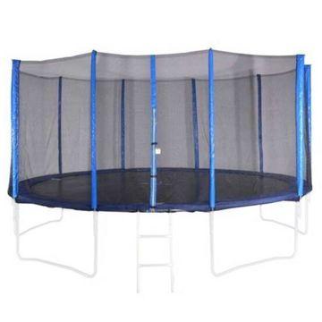 Spartan: Plasă protecție pentru trambulină de 460 cm - 5 picioare, 10 stâlpi - .foto