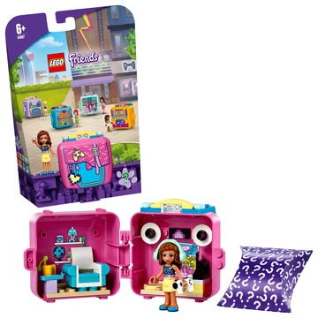 LEGO Friends: Olivia gamer dobozkája 41667