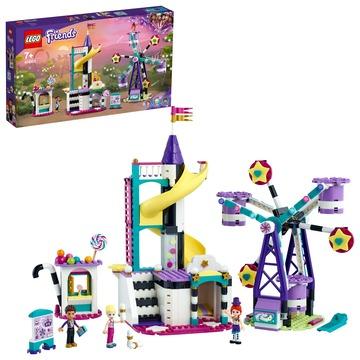 LEGO Friends: Roată și tobogan magic - 41689