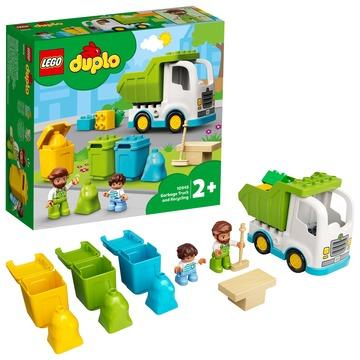 LEGO DUPLO Town: Szemeteskocsi és újrahasznosítás 10945