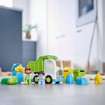 LEGO DUPLO Town: Szemeteskocsi és újrahasznosítás 10945 - . kép