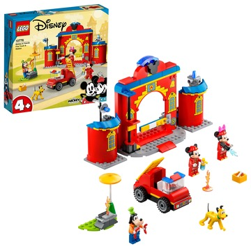 LEGO Disney: Mickey and Friends Mickey és barátai tűzoltóság és tűzoltója 10776