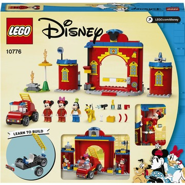 LEGO Disney: Mickey and Friends Mickey és barátai tűzoltóság és tűzoltója 10776 - . kép