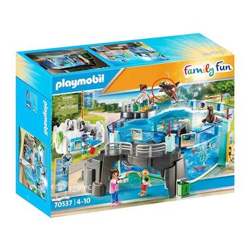 Playmobil: O zi la acvariu - 70537