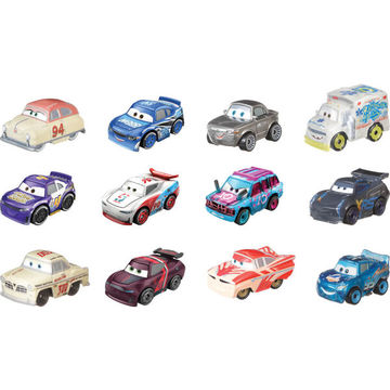 Cars: Mini-mașinuță surpriză - seria 1, în cutie albastru - .foto