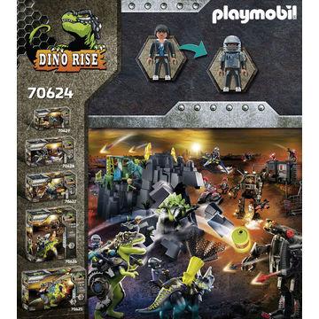Playmobil: T-Rex Bătălia giganților - 70624 - .foto